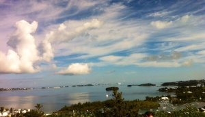 Bermuda, from what's become known as the Queen's View.