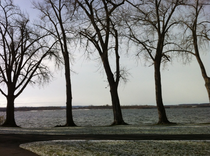 It's cold and beautiful at Onondaga Lake Park, just outside of Syracuse.