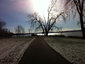 Onondaga Lake Park walking trail