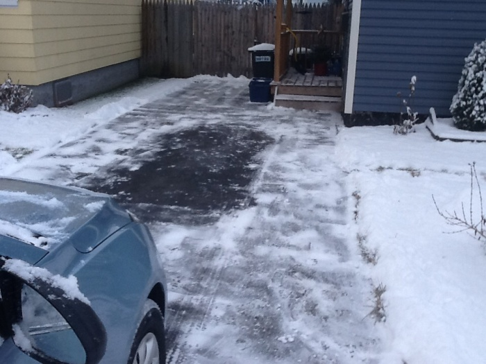 Driveway shoveled by 9 a.m. The clearing won't last long in Syracuse, N.Y.