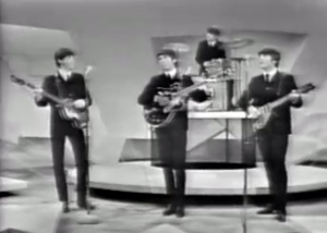 The Beatles, as they were on 'The Ed Sullivan Show' on Feb. 8, 1964. (From youtube.com)