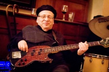 Michael Casale, with his beloved bass. (Courtesy Kimberly Rossi)