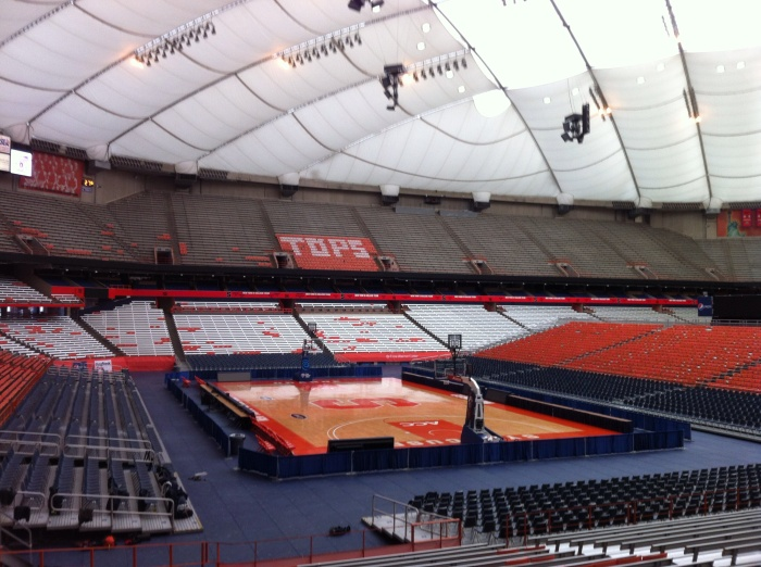 Did Jim Boeheim's double-technical do anything to shame Syracuse in this successful season? I think the Carrier Dome will be full again.