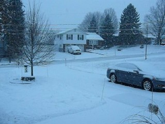 Snow - Syracuse, New York - Jan. 2014
