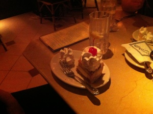 We all loved our dessert.