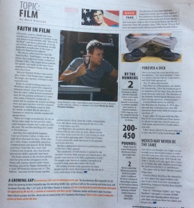 Two film pieces a week for the Syracuse New Times.