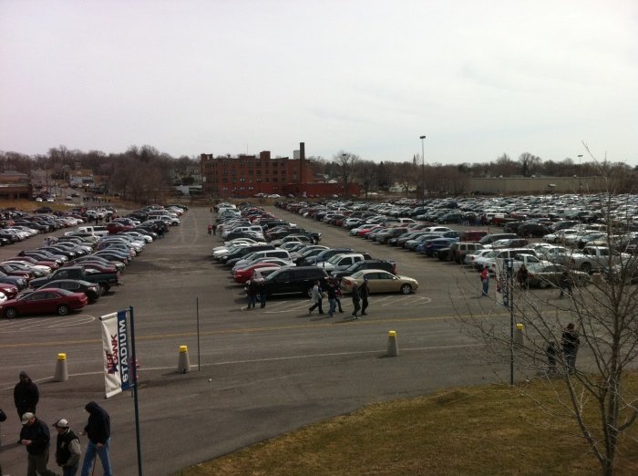 That's a lot of fans hoping for a good baseball season in Syracuse.