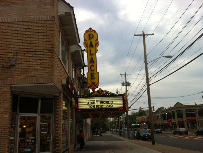 The Palace Theatre on James Street was not in 'Adult World.' But it could have been.