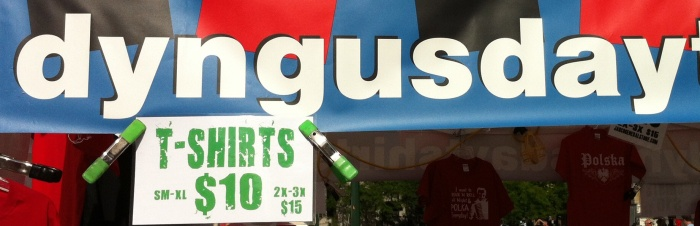 Dyngus Day is a Polish-American tradition. You can look it up. I'd have to, also.