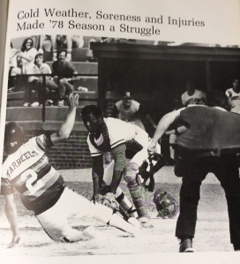 "Back in the day, at Shipley Field. (From 1979 Maryland yearbook ""Terrapin"")"