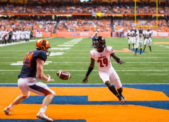 There was not much orange to be found in Syracuse's uniforms during the Orange Out. (Getty Images)
