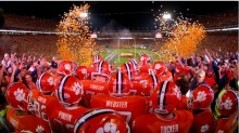 The stadium in Clemson, S.C., called Death Valley. (Getty Images)