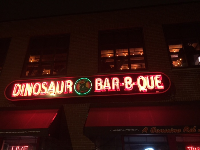 The Dinosaur Bar-B-Que is one of Syracuse's most popular restaurants, bars and live music joints.
