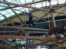 Balancing over the Canyon at WonderWorks.