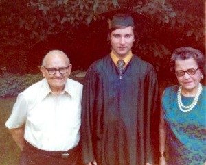 Pop Pop and Nana celebrate my graduation on Long Island.