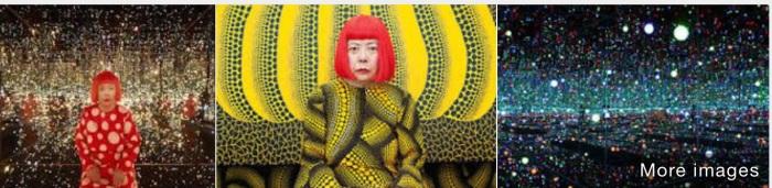 Japanes artist Yayoi Kusama in images (From Google+)