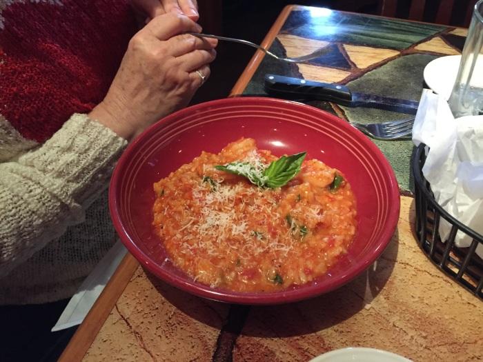 Big bowl o' shrimp.
