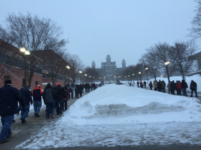 March to the Carrier Dome.