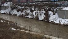 Syracuse Creek Walk below.
