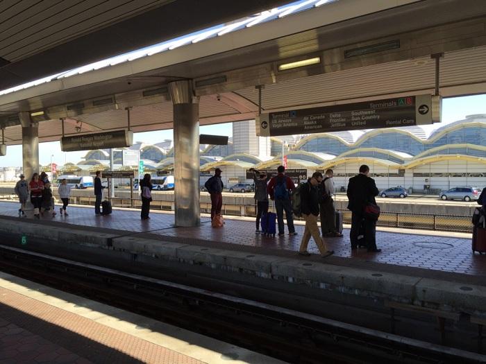 Metro Station, Reagan International.