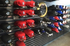 They're all versions of the Syracuse Chiefs' cap.