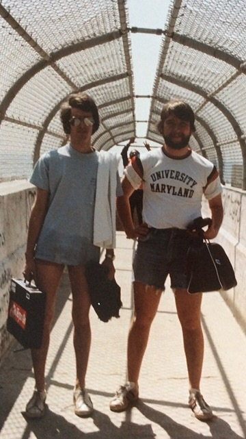 Dave Lilling and I, Los Angeles, 1976.