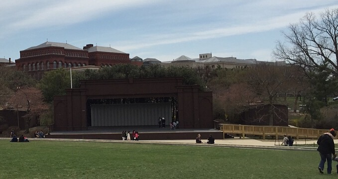 Site of Earth Day concert in my time?