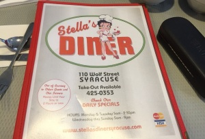 Stella's, the signature.