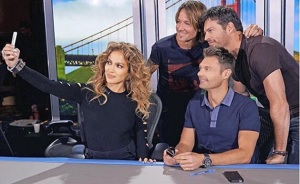One last year season in 2016 for Jennifer Lopez, Ryan Seacrest, Harry Connick Jr, and Keith Urban. (From FOX/Michael Becker)