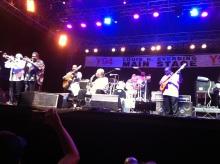 B.B. King in Syracuse in June, 2014.