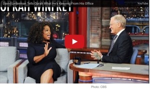 Oprah tells Dave ... Ah, you know who they are. (Photo from deadline.com)