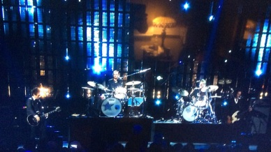 Ringo Starr and Tre Cool.