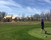 Golf lover's dream house.