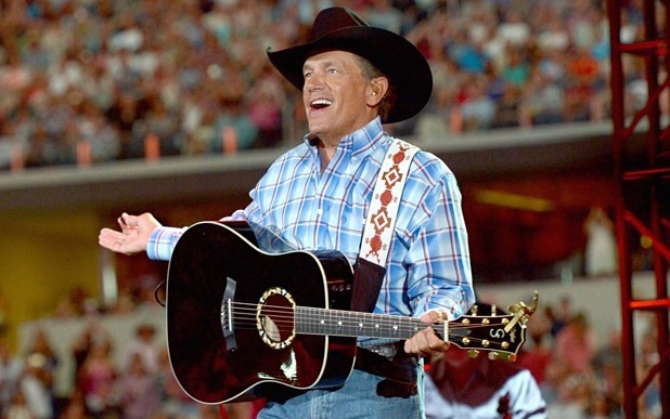 George Strait's last concert. (Getty Images)