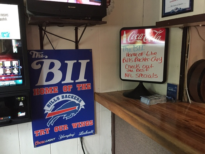 Park it here, Bills fans.