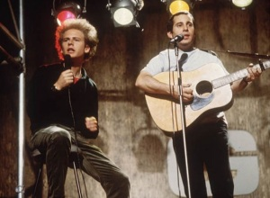 Art Garfunkel and Paul Simon in 1970 (From Getty Images)