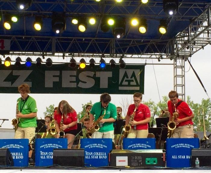 The City of Syracuse Parks & Rec Stan Colella Big Band.
