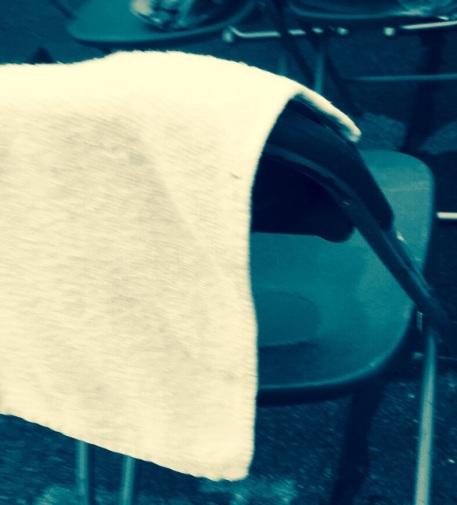 My friend Dave's towel.