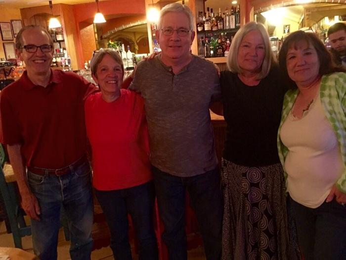 Steve, Jana, Scott, Karen and Lynne.