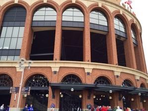 Stately stadium.