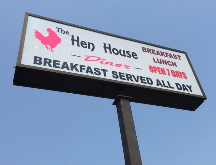 The Hen House aims to please me.