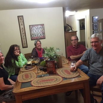 Comfortable: Karen, Lynne, Jana, Steve and Scott.