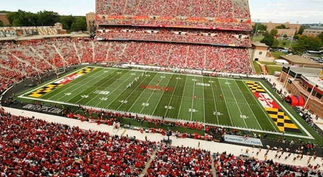 Maryland's home turf. (Photo from Getty Images)