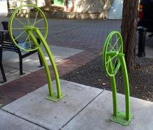 Now that's a bike rack.