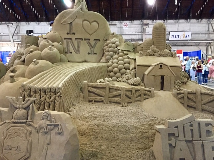 Now that's a sand castle.