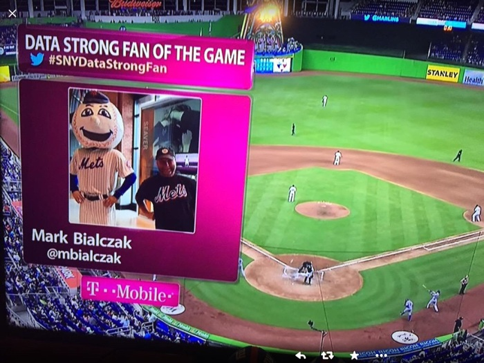 My mug on SNY.