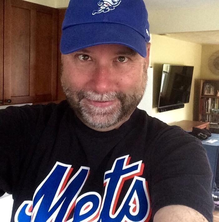 Mets postseason selfie.
