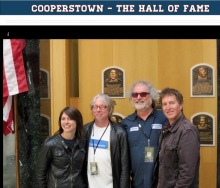 A happy band in Cooperstown, N.Y. (From thebaseballproject.net)