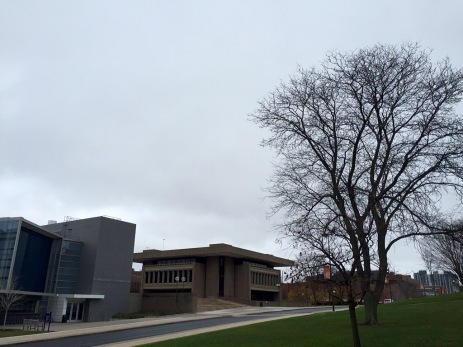 S.I. Newhouse School buildings.