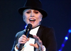 Lada Gaga with New York, New York (Getty Images)